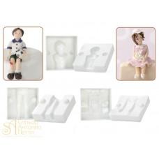 Пластиковая форма 3D - Ребенок (30360)