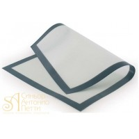 Силиконовый антипригарный коврик на тканной основе, 62*42см. (SILICOPAT 3B)