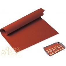 Силиконовый антипригарный коврик, 40*30см. (SILICOPAT 7/RRUS)