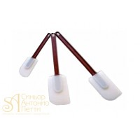 Силиконовая лопатка с пластиковой ручкой, 25см. (SPS 25)