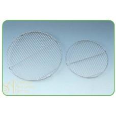 Решетка из нерж. стали  для стекания глазури, круглая, 40см. (PR 40)