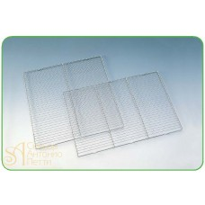 Решетка из нерж. стали  для стекания глазури, прямоугольная, 40*60см. (PR 40X60)