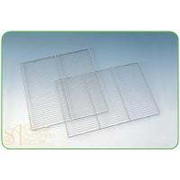 Решетка из нерж. стали  для стекания глазури, квадратная, 50*50см. (PR 50X50)