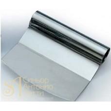 Скребок металлический изогнутый, 120*110мм. (RC 110)