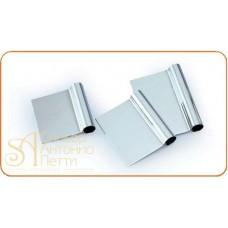 Скребок металлический прямоугольный, 125*105мм. (RD 125)