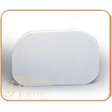 Пластмассовый мягкий скребок - Овальный, 145*95мм. (RTL 2)