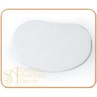 Пластмассовый мягкий скребок - Овальный, 140*90мм. (RTO 2)