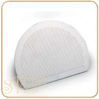 Пластмассовый твердый скребок - С ребристой поверхностью, 195*150мм. (RTS 1)
