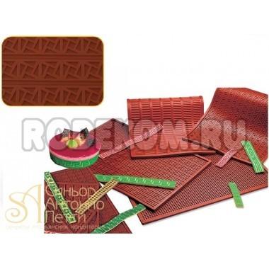 Рельефный коврик - Греческий квадрат (RELIEF 11)