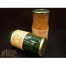 Вишня с веточкой в сиропе - Зеленая, 20мм. 0.95кг. (LAC 00S0121)