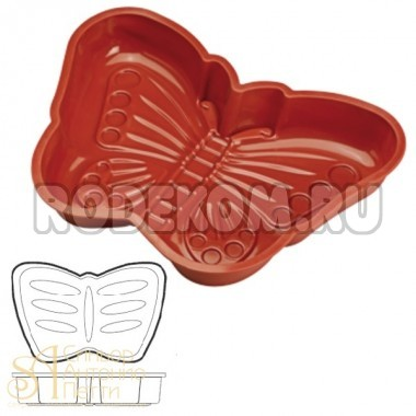 Форма для выпечки HappyFlex - Бабочка (HF 01256)