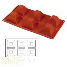 Форма для выпечки HappyFlex - Пирамида (HF 03086)