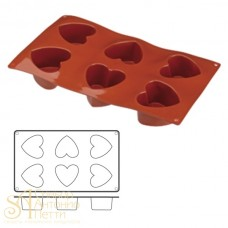 Форма для выпечки HappyFlex - Сердце (HF 03130)