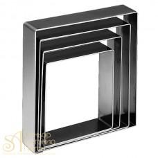 Металлическая форма - Квадрат, 22см. (5H6x22RU)