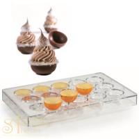 Форма для конфет - Чаша (20 GU501)