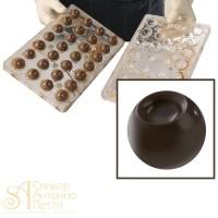 Форма для изготовления объемных конфет - Сфера (20-3D2003)