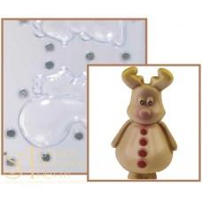 Набор форм для изготовления шоколадных фигурок - Олень, 2шт. (20-C1002)