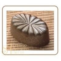 Форма для конфет - Овал с цветком (MA 1335)