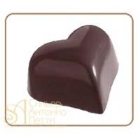 Форма для конфет - Сердце (MA 1526)