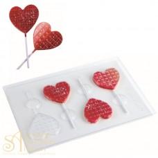 Набор пластиковых форм - Сердце, 2шт. (20 L004)