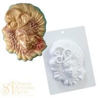 Форма для отливки шоколадных фигурок - Венецианская маска (20-CA002)