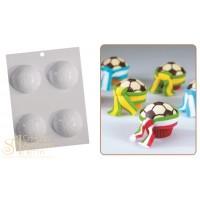 Форма для отливки шоколадных фигурок - Футбольный мяч (20-CA100)