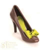Форма для отливки шоколадных фигурок - Туфелька (90-1000)