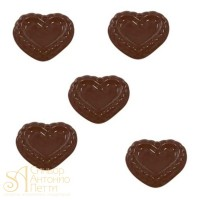 Форма для отливки шоколадных фигурок - Сердце (90-1019)