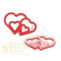 Резак для печенья - Сердца (ACC 077)