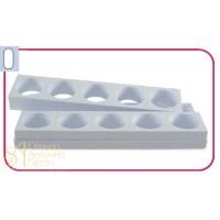 Форма для пирожных - Капсула (Monop A0013)
