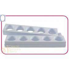 Форма для пирожных - Овал (Monop A002)