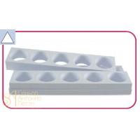 Форма для пирожных - Треугольник (Monop A004)