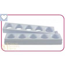 Форма для пирожных - Сердце (Monop A007)
