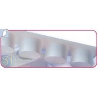 Пластиковый выдавливатель - Листик (EM 11)