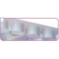 Пластиковый выдавливатель - Овал (EM 2)