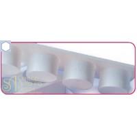 Пластиковый выдавливатель - Шестиугольник (EM 3)