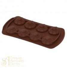 Силиконовая форма для конфет - Летающая тарелка (HF 05613)