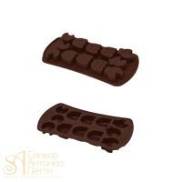 Силиконовая форма для конфет - Пакмен (HF 05621)