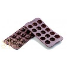 Силиконовая форма для конфет - Розы (SCG 13)