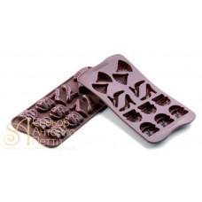 Силиконовая форма для конфет - Fashion (SCG 14)