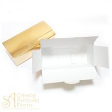 Упаковка для конфет - Золотая, 13,5*6*h5см. (SP 13,5*6*5)