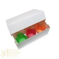 Упаковка на 6 капкейков - Белая, 16,5*25*h11см. (SP CUP6)