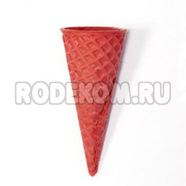"""Рожок вафельный """"Стандарт 110"""" Красный, 5 шт."""